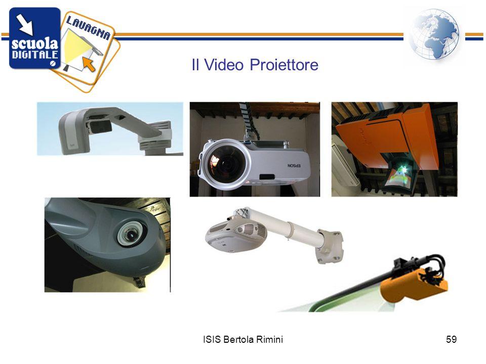 ISIS Bertola Rimini59 Il Video Proiettore