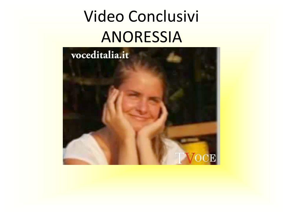 Video Conclusivi ANORESSIA