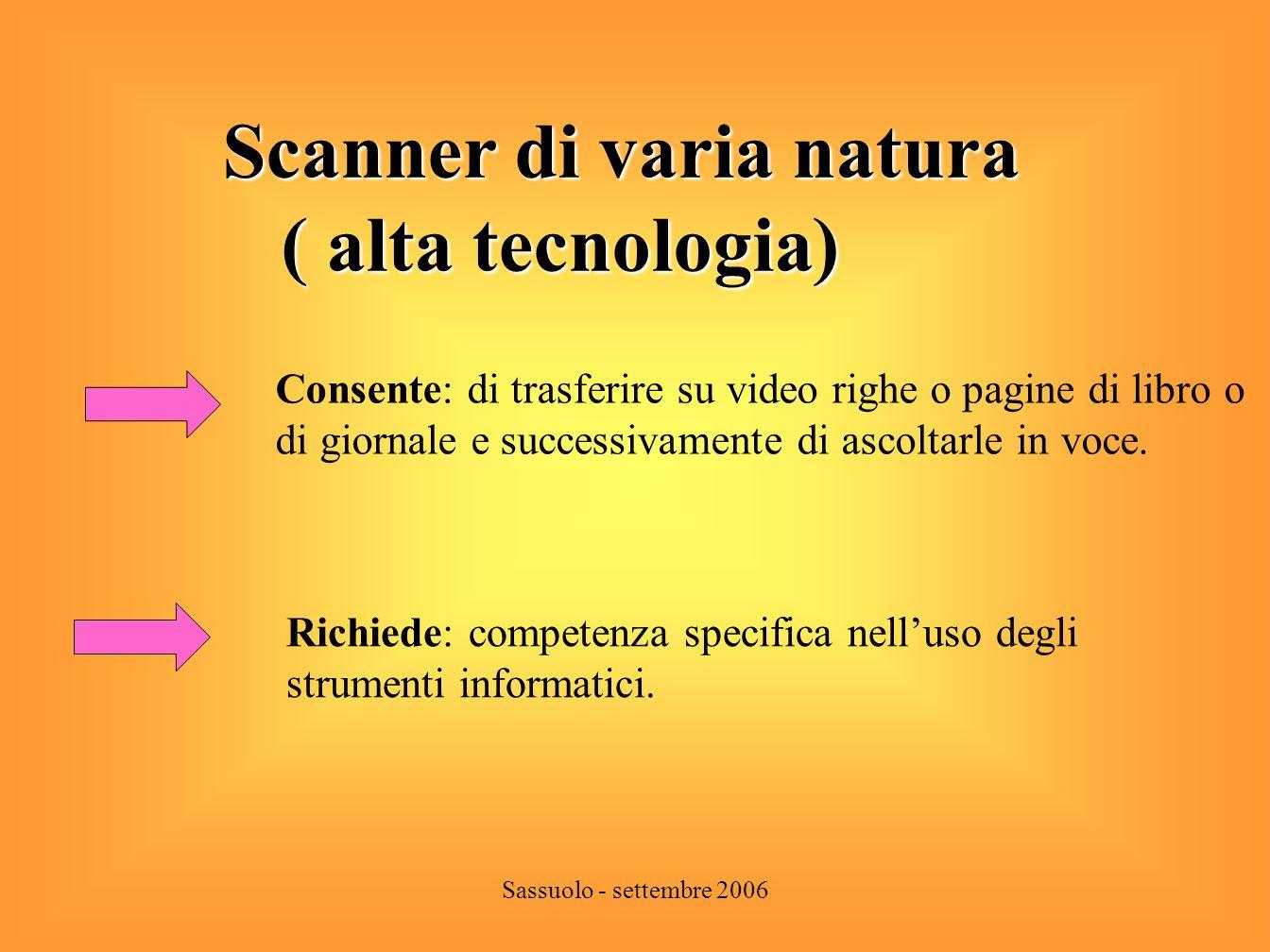 Sassuolo - settembre 2006 Quali aiuti per le difficoltà di scrittura? di scrittura?