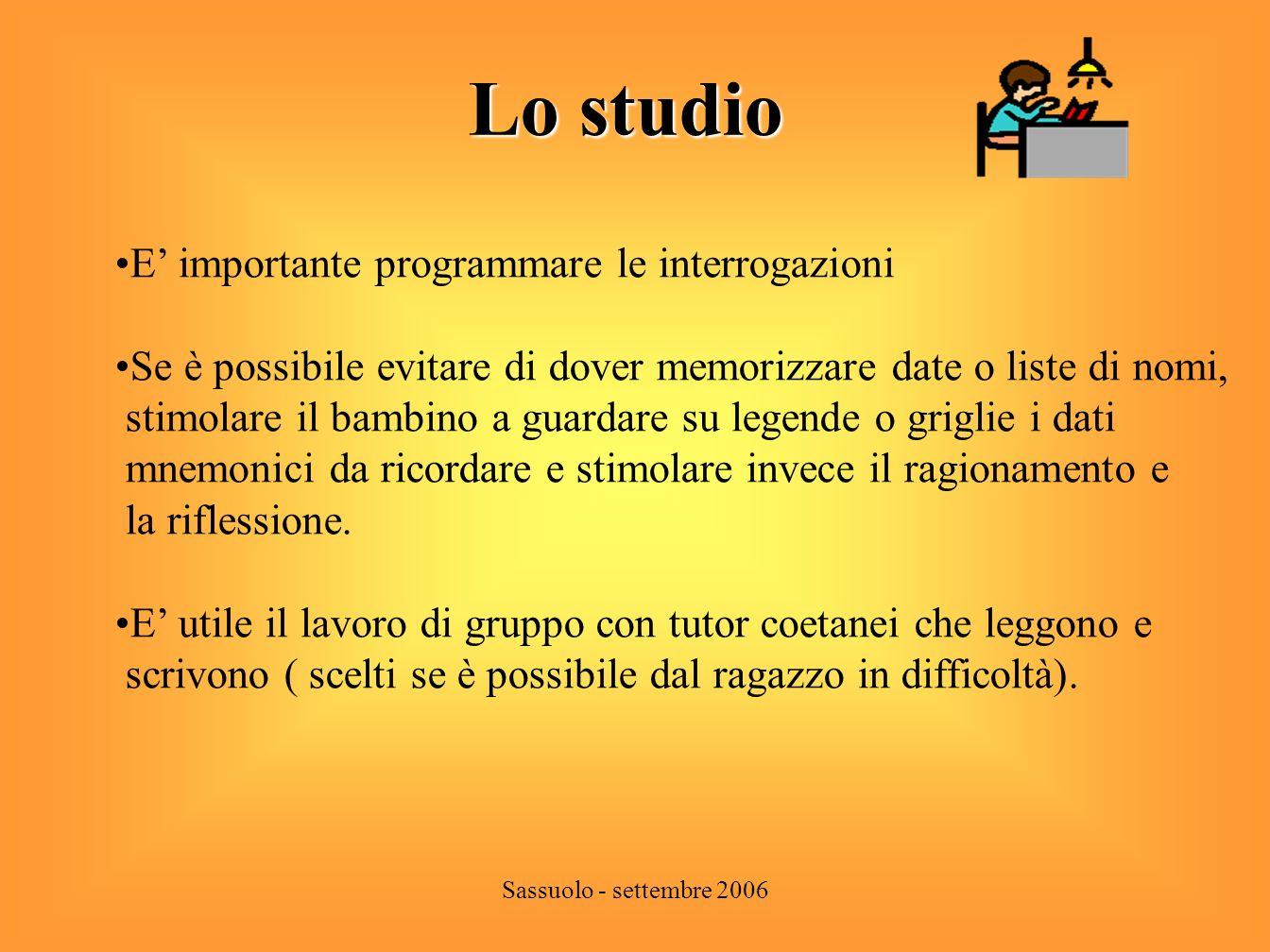 Sassuolo - settembre 2006