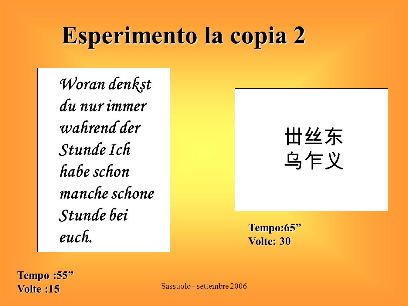 Sassuolo - settembre 2006 Classificazione degli errori di scrittura 1 Classificazione degli errori di scrittura 1 Errori fonologici: Scambio di suoni 1.Omologhi es.