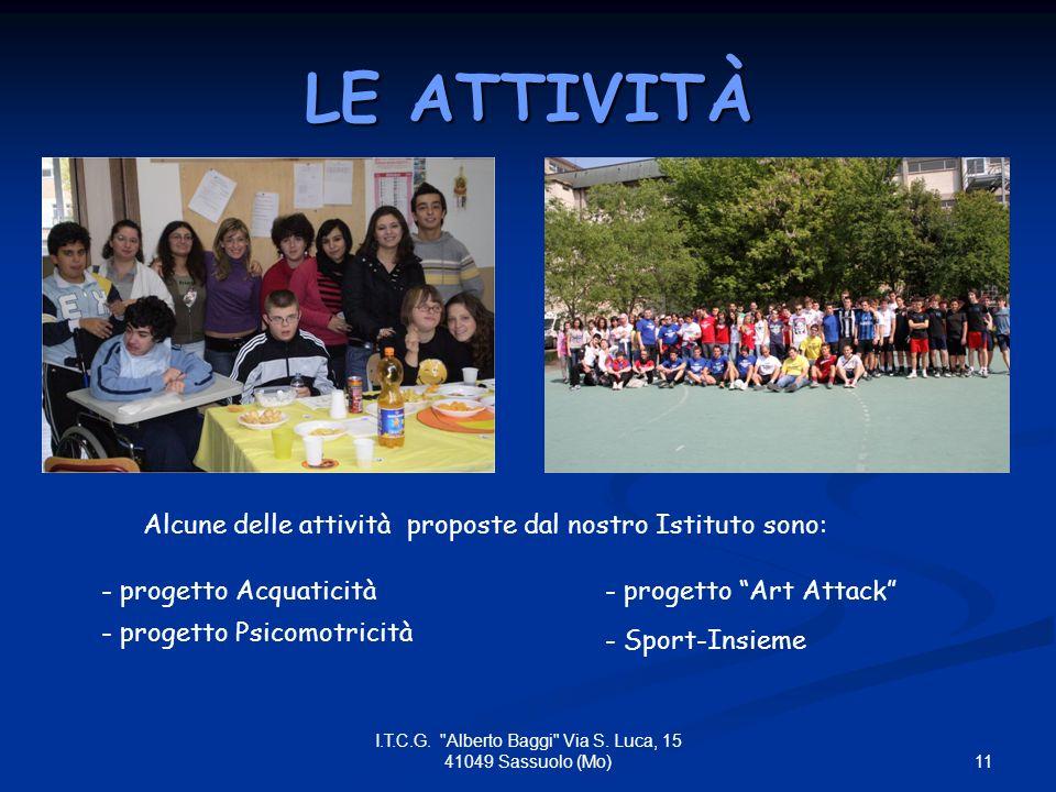11 I.T.C.G. Alberto Baggi Via S.