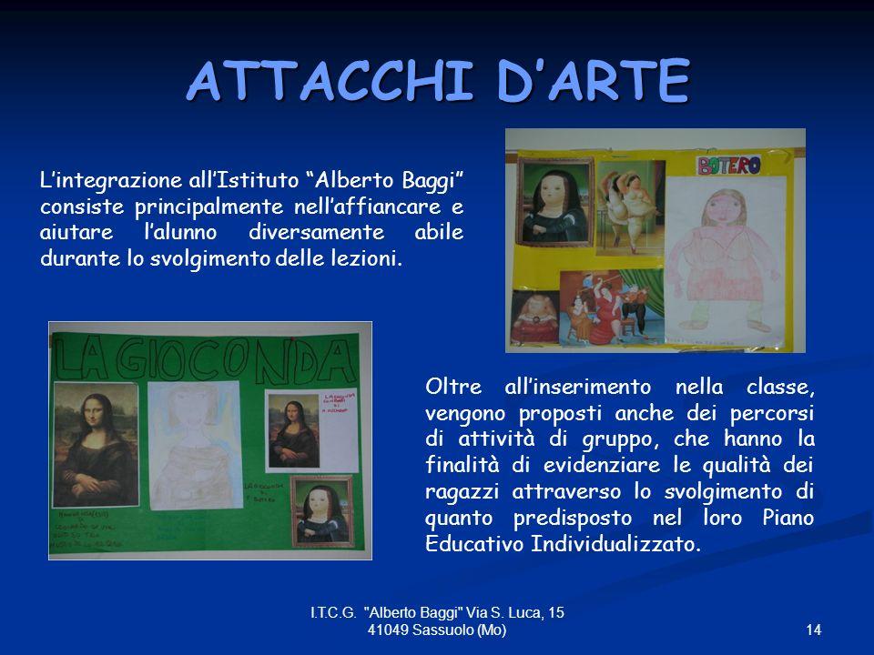 14 I.T.C.G. Alberto Baggi Via S.