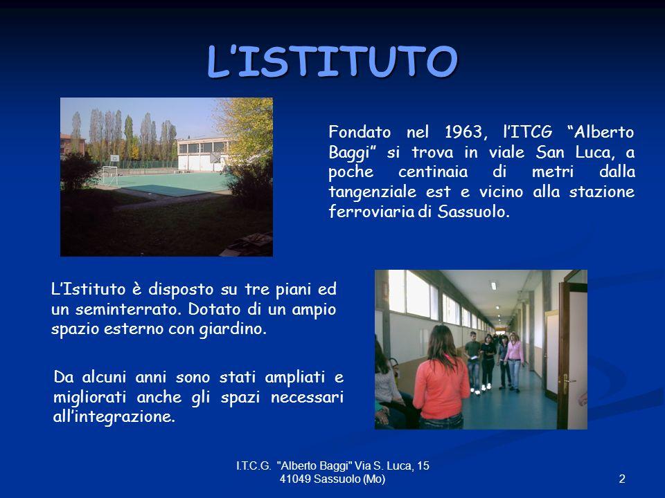 3 I.T.C.G. Alberto Baggi Via S.