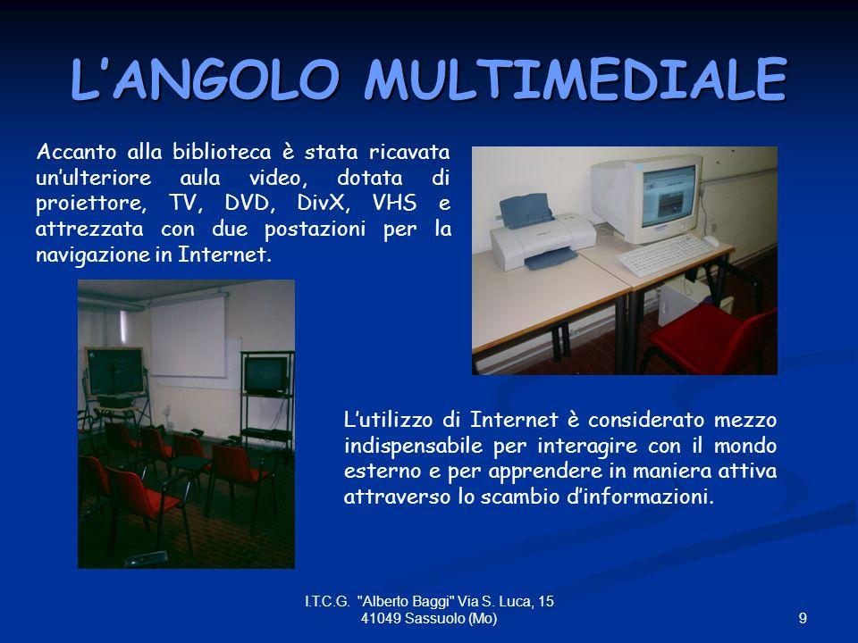 20 I.T.C.G. Alberto Baggi Via S.