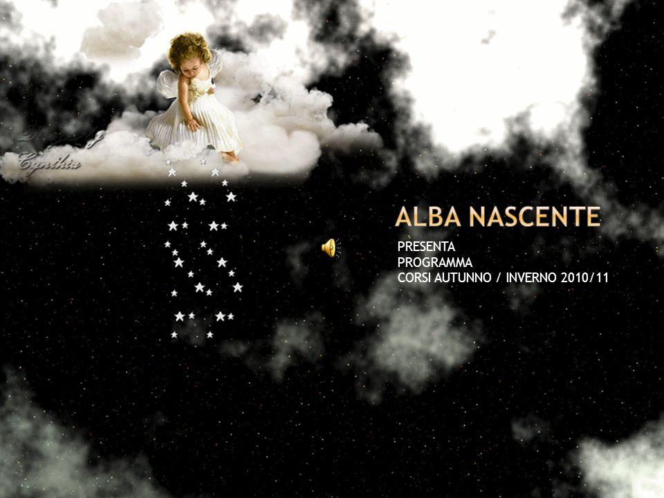 PRESENTA PROGRAMMA CORSI AUTUNNO / INVERNO 2010/11