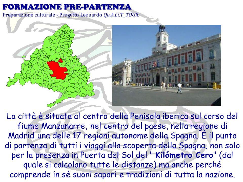 La città è situata al centro della Penisola iberica sul corso del fiume Manzanarre, nel centro del paese, nella regione di Madrid una delle 17 regioni