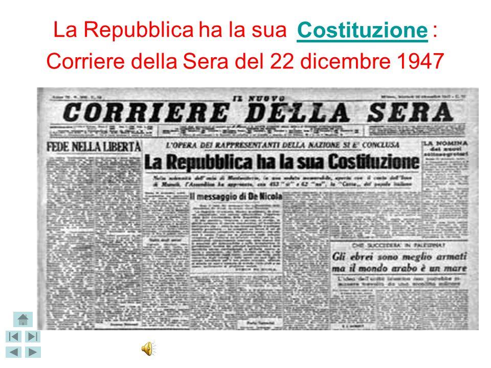 L'intesa che permise la realizzazione della Costituzione è stata più volte definita «compromesso costituzionale», poiché era una commistione di concez