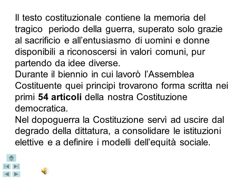 La Repubblica ha la sua : Corriere della Sera del 22 dicembre 1947 Costituzione