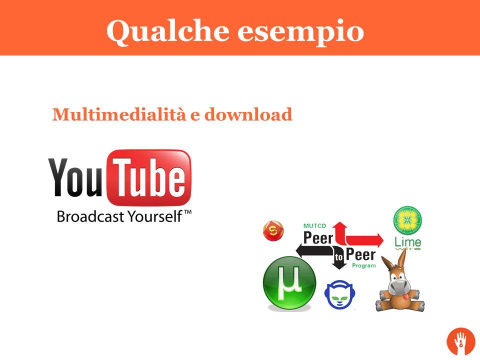Qualche esempio Multimedialità e download