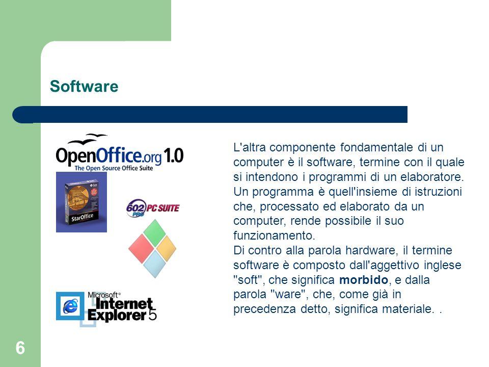 17 Il Network computer I vantaggi offerti dal Network Computer sono molti.