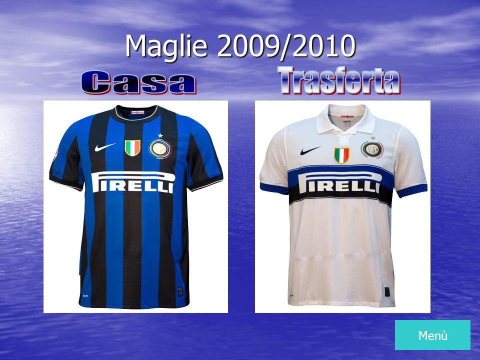 Maglie 2009/2010 Menù