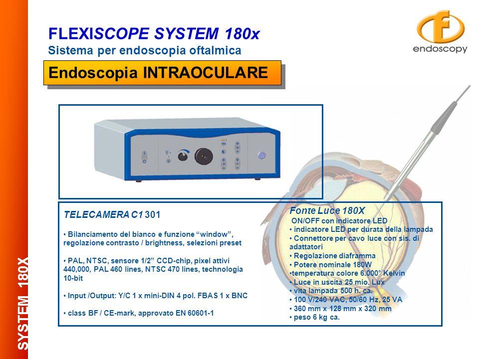 Micro-fibroscopio interamente autoclavabile 134° - 18.