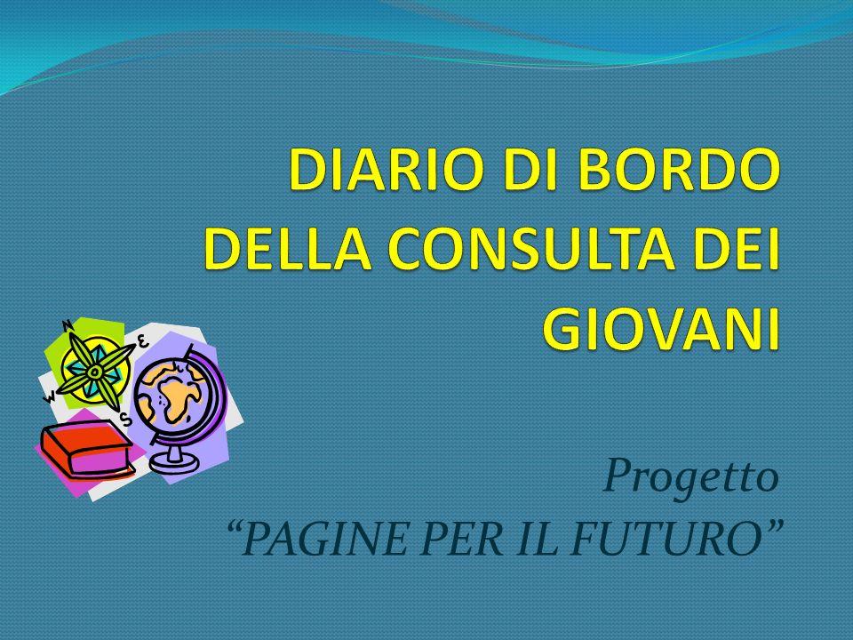 Progetto PAGINE PER IL FUTURO