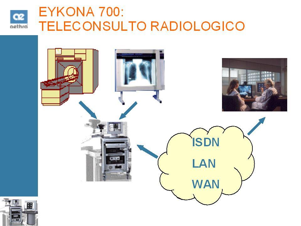 EYKONA 700: TELECONSULTO RADIOLOGICO ISDN LAN WAN