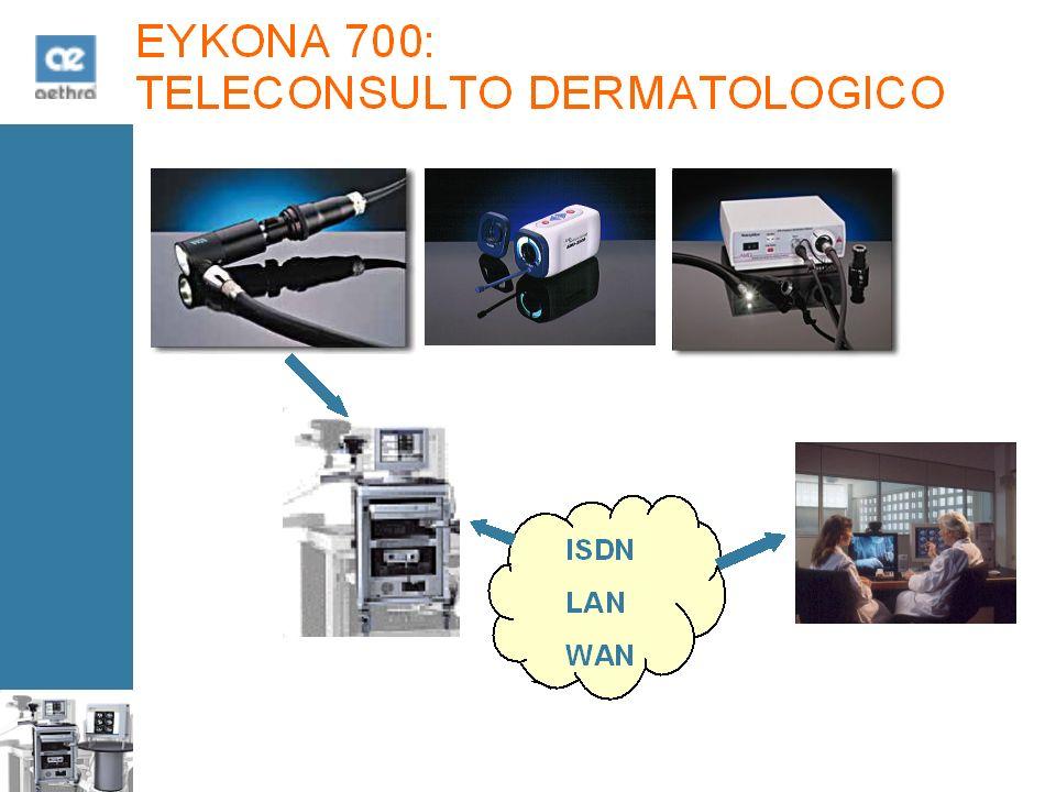 EYKONA 700: TELECONSULTO DERMATOLOGICO ISDN LAN WAN
