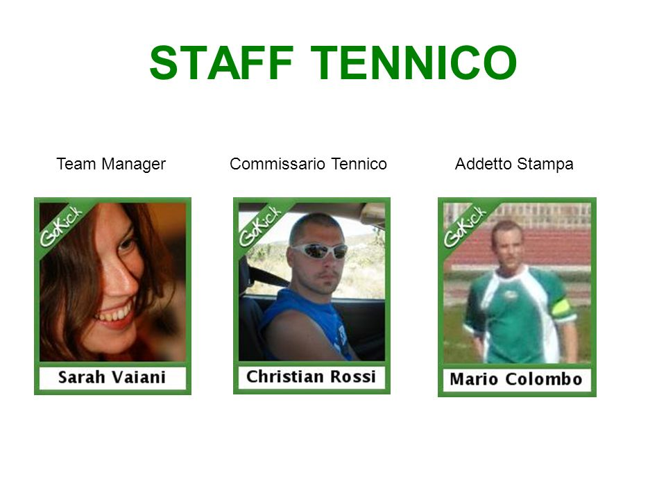 TEAM MANAGER 51,1% (24 voti) 46,8% (22 voti) 2,1 % (1 voto)