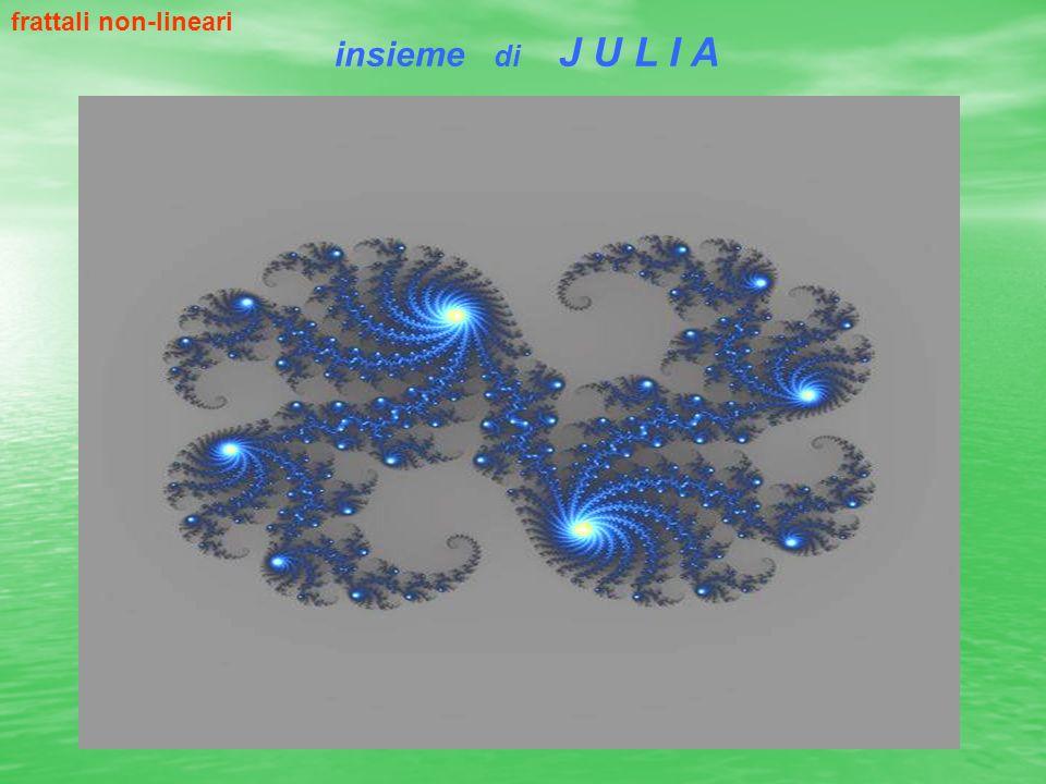 insieme di J U L I A frattali non-lineari