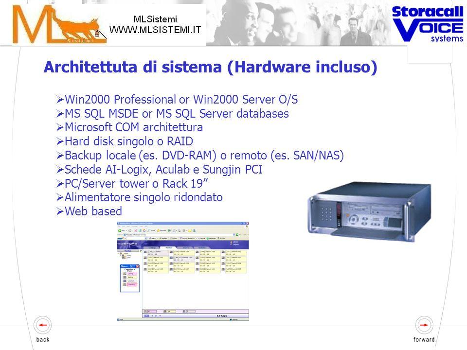IP e connessioni tradizionali supportate nello stesso server La migrazione da tradizionale a IP può richiedere hardware addizionale (es. Scheda di ret