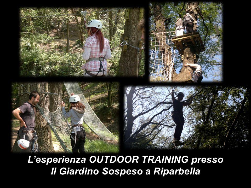 Lesperienza OUTDOOR TRAINING presso Il Giardino Sospeso a Riparbella