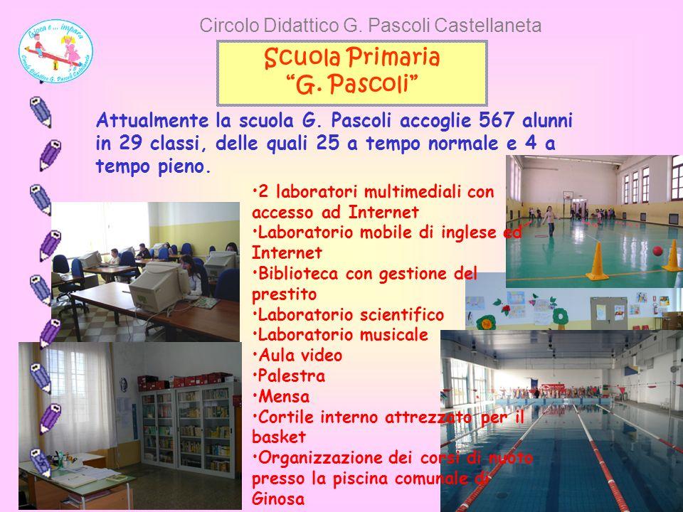 Circolo Didattico G. Pascoli Castellaneta Scuola Primaria G.