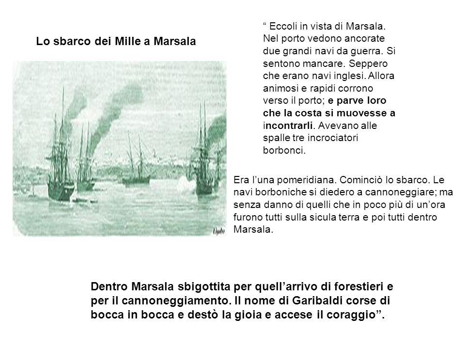 Il 10 il Piemonte avanza e sparisce allocchio di quelli che sono sul Lombardo. I quali a non vedere più il vascello su cui era Garibaldi furono assali