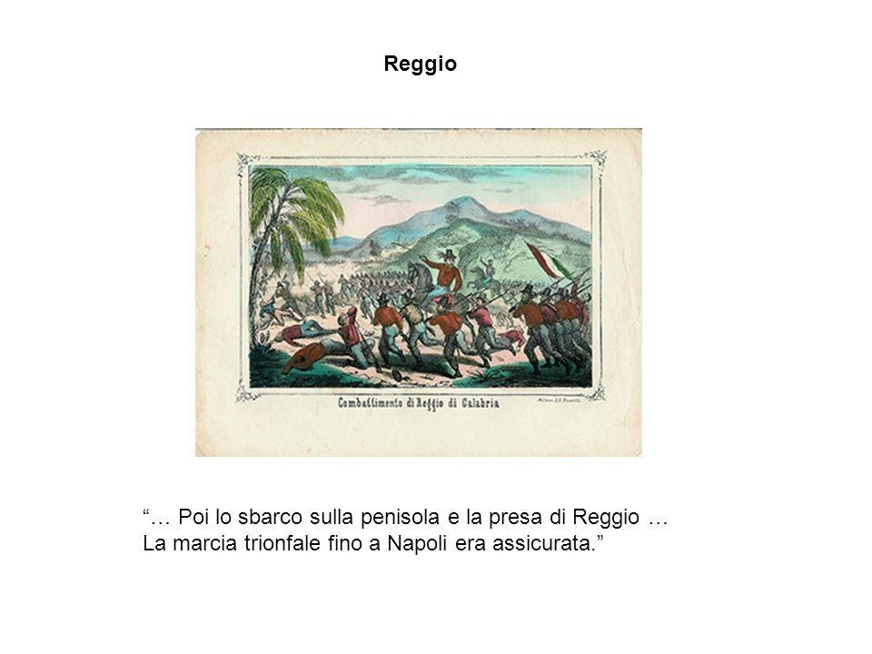 Garibaldi a Calatafimi Nel momento più dubbio Bixio che non si mosse dal fianco del Generale, quel Bixio dacciaio, aveva detto:- Temo che bisognerà ri