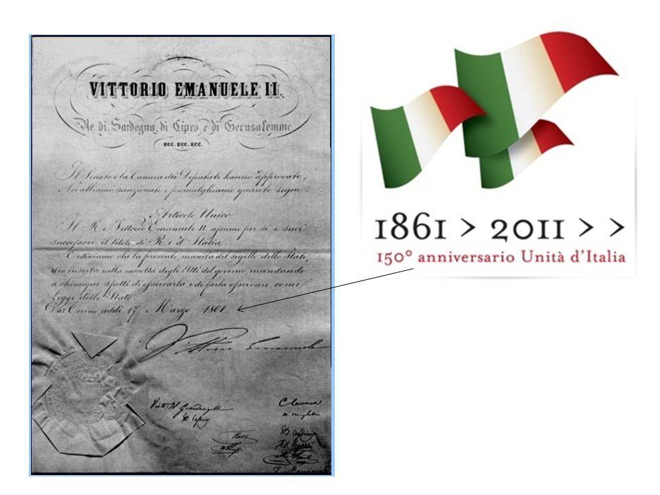 REGNO D ITALIA 17 Marzo 1861