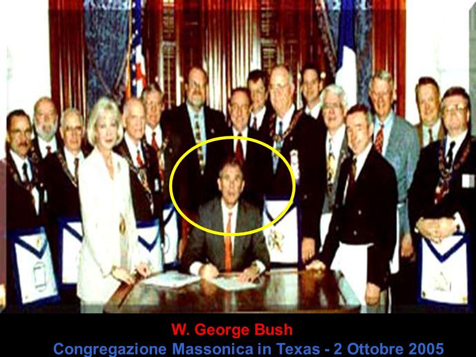 Il Padre di George Bush - Tiene con se la piramide ( Simbolo Massonico )