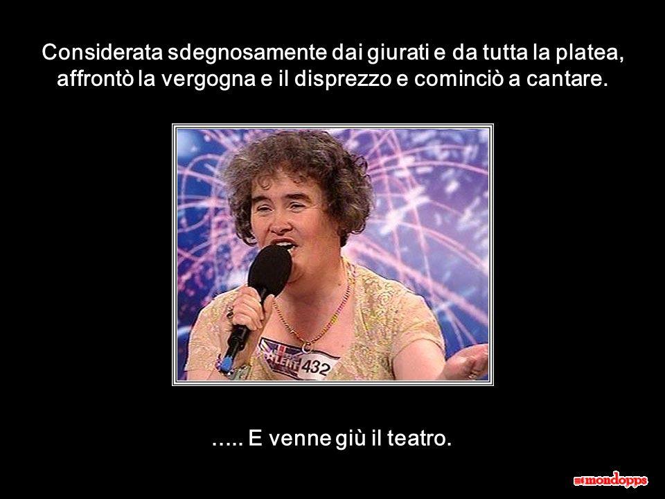 Susan Boyle. Ti incanterà.