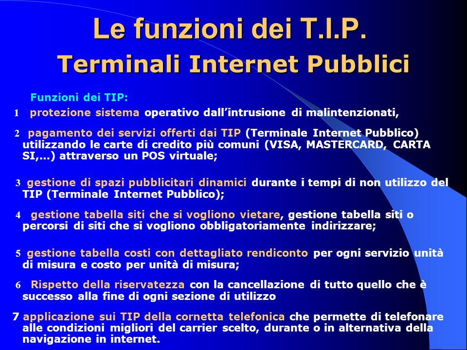 Le funzioni dei T.I.P.