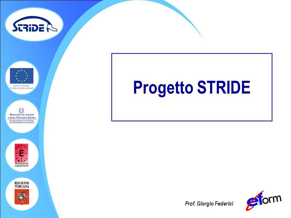 Prof. Giorgio Federici Progetto STRIDE
