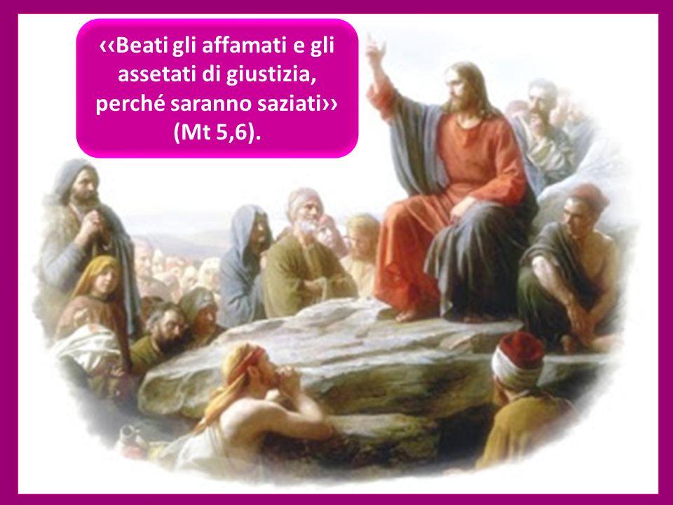 Beati gli affamati e gli assetati di giustizia, perché saranno saziati (Mt 5,6). ritardo