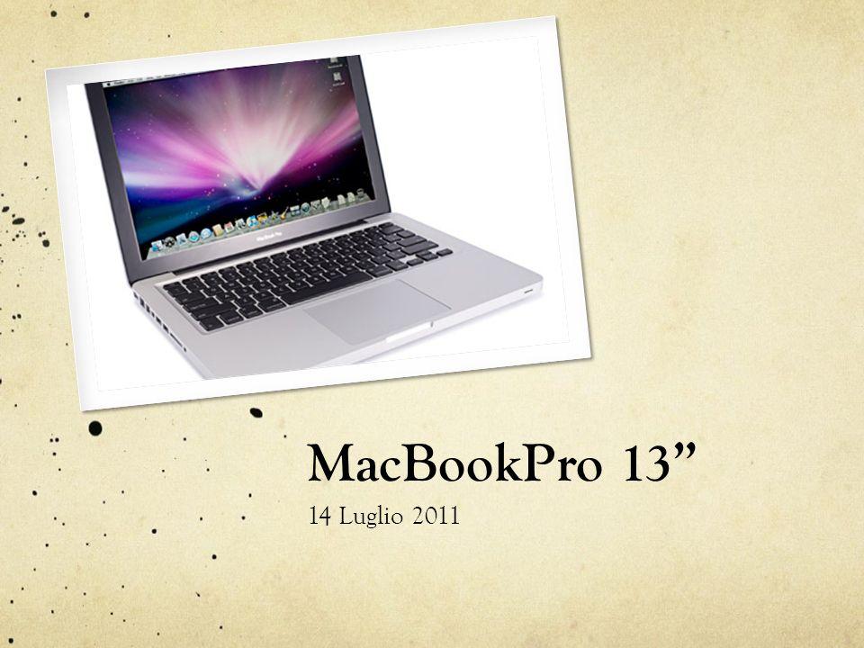 MacBookPro 13 14 Luglio 2011
