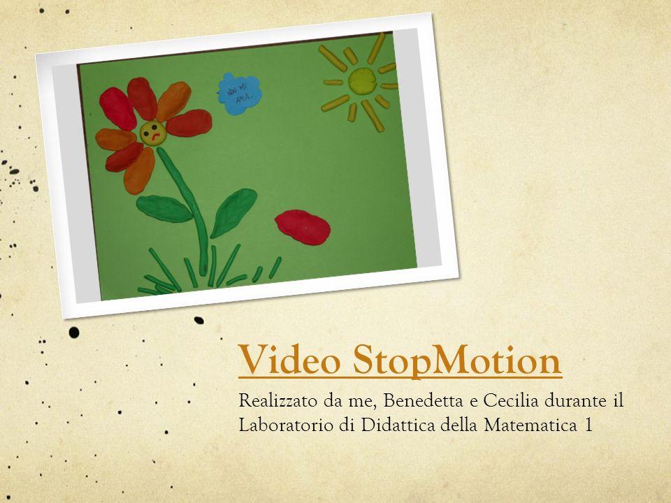 Video StopMotion Realizzato da me, Benedetta e Cecilia durante il Laboratorio di Didattica della Matematica 1