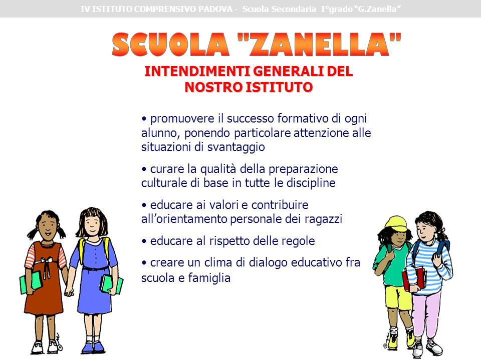 promuovere il successo formativo di ogni alunno, ponendo particolare attenzione alle situazioni di svantaggio curare la qualità della preparazione cul