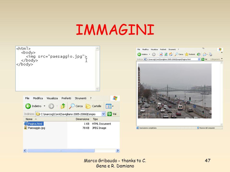 Marco Gribaudo - thanks to C. Gena e R. Damiano 47 IMMAGINI