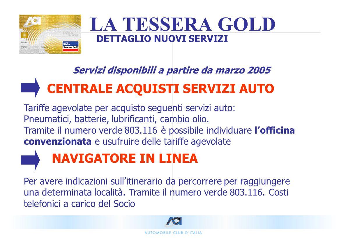 CENTRALE ACQUISTI SERVIZI AUTO Tariffe agevolate per acquisto seguenti servizi auto: Pneumatici, batterie, lubrificanti, cambio olio.