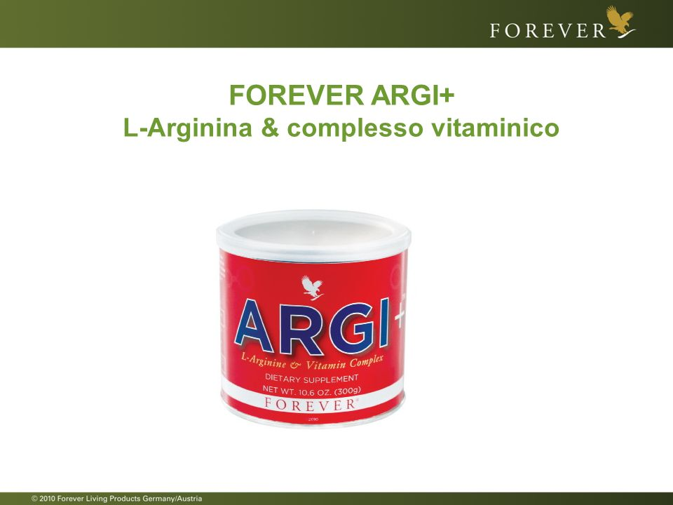 FOREVER ARGI+ L-Arginina & complesso vitaminico