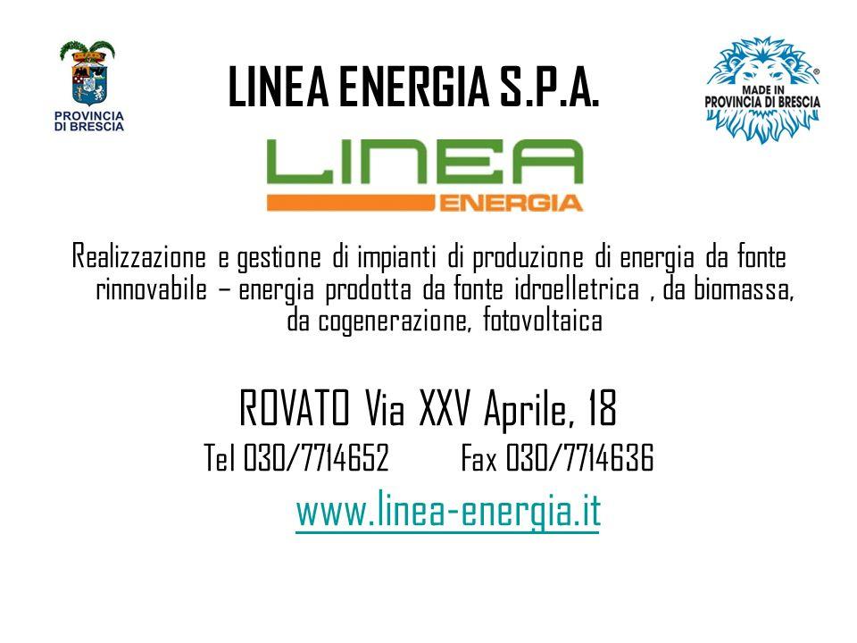 LINEA ENERGIA S.P.A.