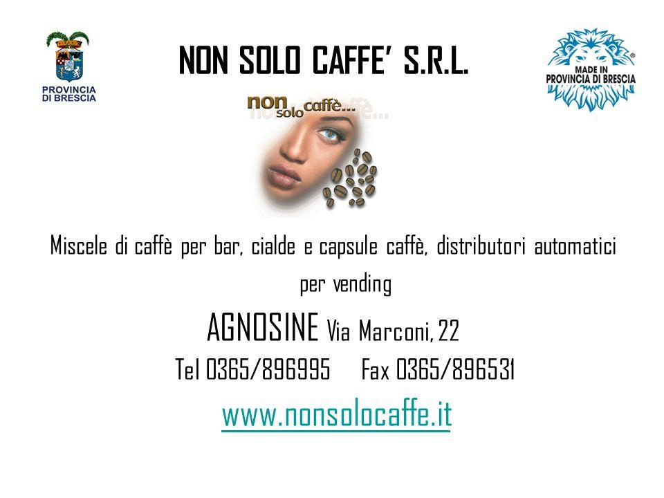 NON SOLO CAFFE S.R.L.
