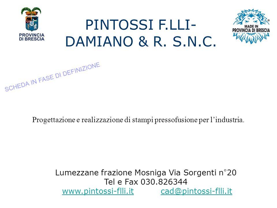 PINTOSSI F.LLI- DAMIANO & R.S.N.C.