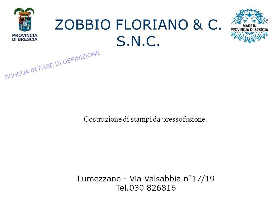 ZOBBIO FLORIANO & C.S.N.C.