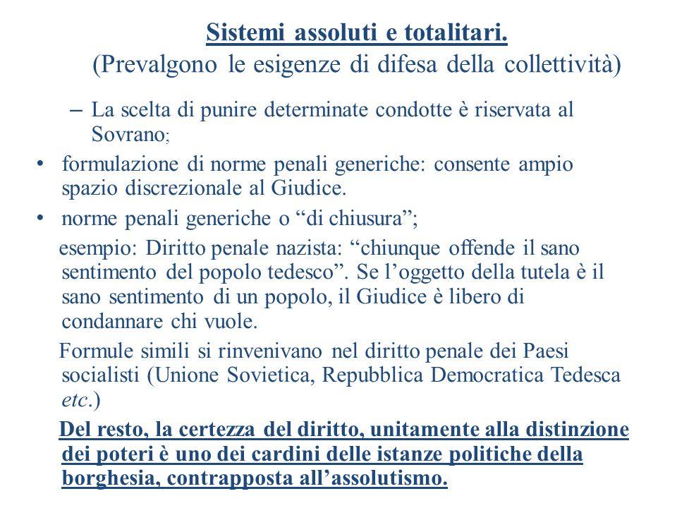 16 Enunciazione del tradizionale principio di legalità della pena: Nullum crimen nulla poena, sine previa lege poenali.