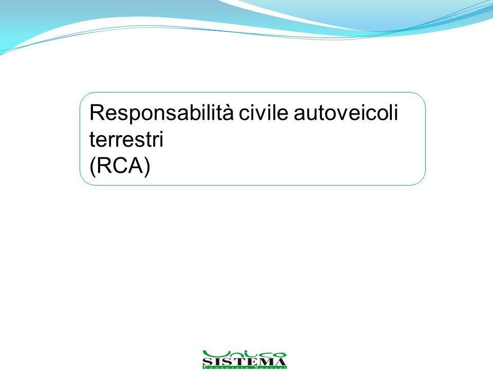 Responsabilità civile autoveicoli terrestri (RCA)