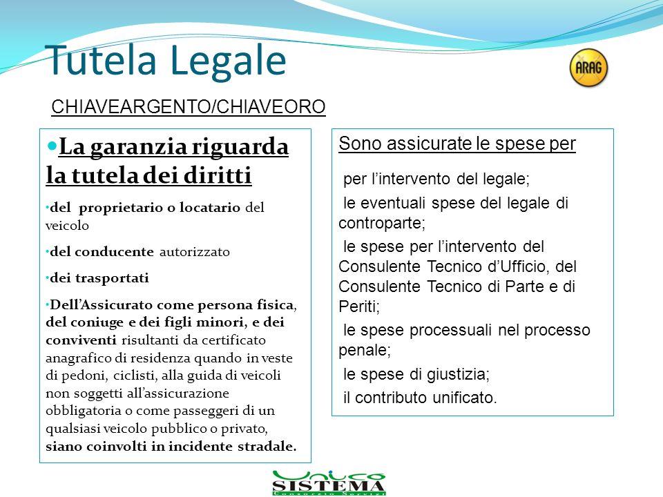 Tutela Legale La garanzia riguarda la tutela dei diritti del proprietario o locatario del veicolo del conducente autorizzato dei trasportati DellAssic