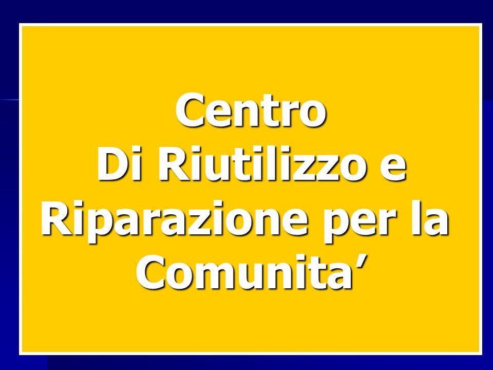 Centro Di Riutilizzo e Riparazione per la Comunita