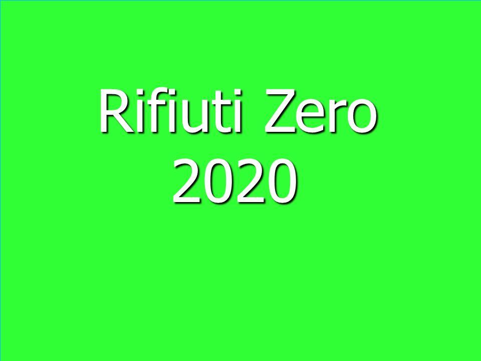 Rifiuti Zero Rifiuti Zero 2020 2020 Rifiuti Zero Rifiuti Zero 2020 2020