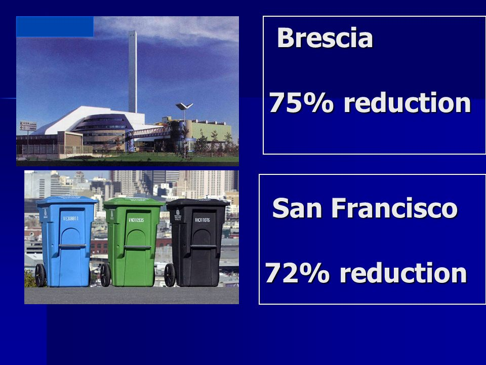 Brescia 75% reduction Brescia 75% reduction San Francisco San Francisco 72% reduction