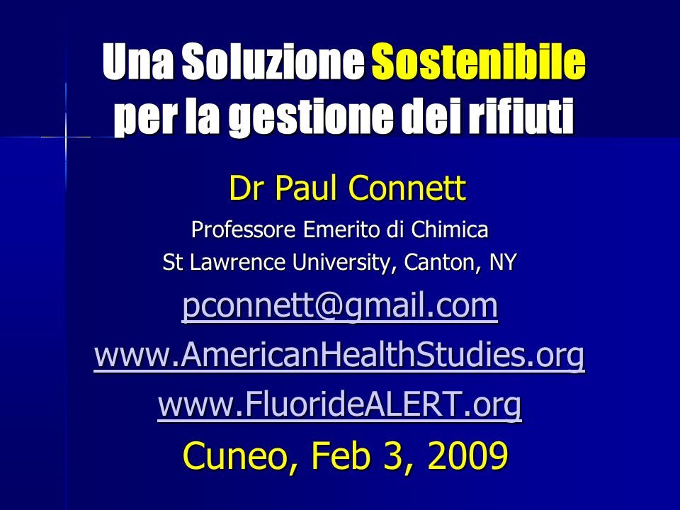 Developmental Effects of Dioxins Linda S.